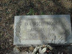 Ina <i>Rich</i> Moore