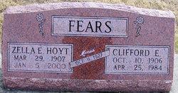 Zella E <i>Hoyt</i> Fears
