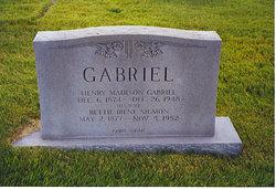 Bettie Irene <i>Sigmon</i> Gabriel