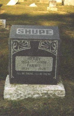 Fannie Slater <i>West</i> Shupe