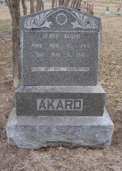 Henry Dutch Akard