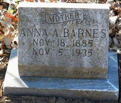 Anna A. <i>Johnson</i> Barnes