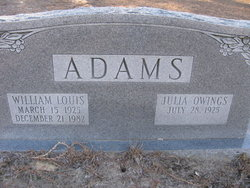 William Louis Adams