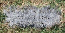 George W Barnes