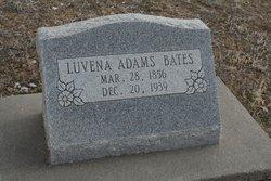 Luvena Angeline <i>Adams</i> Bates