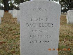 Elma K. Bachelder