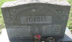 Peggy Ann <i>Wyatt</i> Forbes