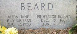 Professor Bolton Beard