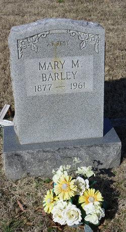 Mary Myrtle Mamie <i>Roddy</i> Barley