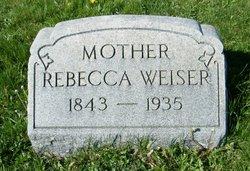 Rebecca <i>Hinkel</i> Weiser