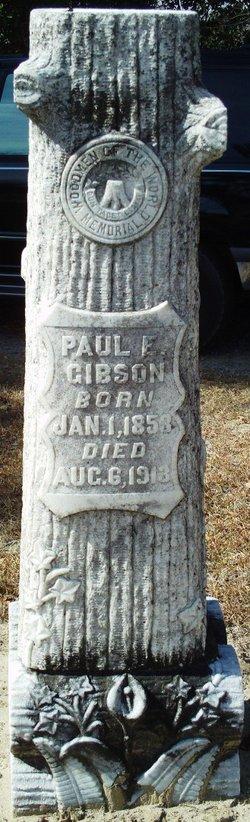 Paul Ellison Gibson, Sr