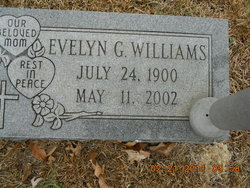 Evelyn Gertrude Gertie <i>Belcher</i> Williams