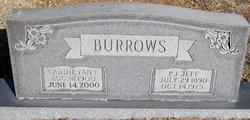 Caddie H. <i>Fant</i> Burrows