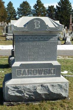 Anna <i>Foss</i> Barowski