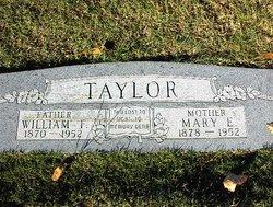 William Franklin Frank Taylor