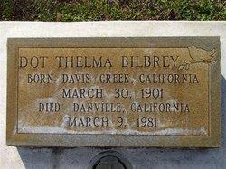 Dot Thelma <i>Briles</i> Bilbrey