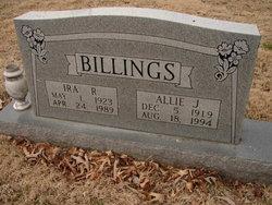 Allie Jewell <i>Whitaker</i> Billings