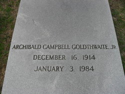 Archibald Campbell Goldthwaite, Jr