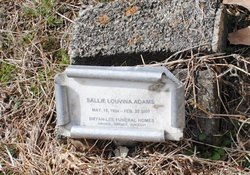 Sallie Louvenia Adams