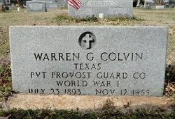 Warren G Colvin