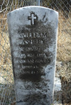 Capt William Ashley