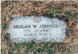 Beulah Mary <i>Windon</i> Johnson