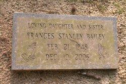 Frances Ann <i>Stanley</i> Bailey