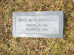 Louise <i>Smith</i> Barrington
