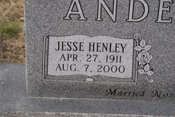 Jesse Henley Anderson