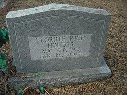 Florrie <i>Rich</i> Holder