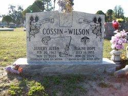 Jeffery Allen Cossin