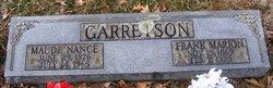 Maude <i>Nance</i> Garretson