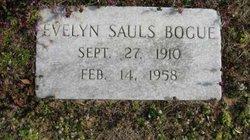 Mary Evelyn <i>Sauls</i> Bogue