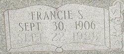 Francie S <i>Daugherty</i> Kirkland