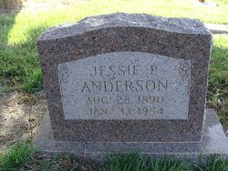 Jessie P <i>Moore</i> Anderson