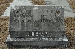Mary Frances Mollie <i>Rich</i> Hobbs