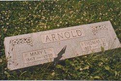 Mary Laura <i>Saylor</i> Arnold
