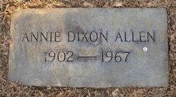 Annie Dixon Allen