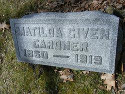 Matilda <i>Given</i> Gardner