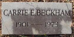 Carrie Emma <i>Beckham</i> Beckham