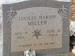 Annie Lucille <i>Piland</i> Hardin-Miller