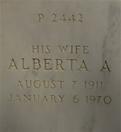 Alberta A Brown