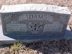 Kallie Virginia <i>Rowden</i> Adams