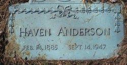 Haven Harlin Anderson, Sr