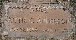Kittie C Anderson