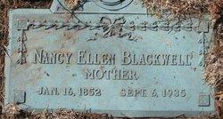 Nancy Ellen <i>Jarvis</i> Blackwell