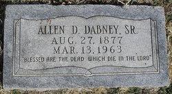 Allen D. Dabney, Sr