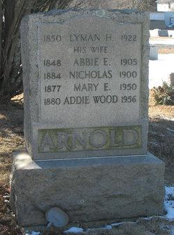 Abbie Eliza <i>Sherman</i> Arnold