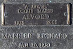Doris Marie <i>Peterson</i> Alvord