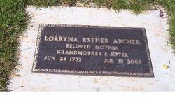 Lorryna Esther <i>Wilson</i> Archer